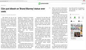 Cllrs put kibosh on Brand Blarney statue over costs