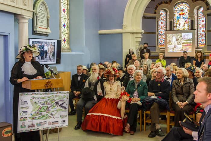 Blarney heritage map launch