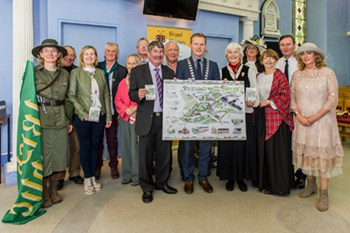 Blarney Heritage Trail map launch