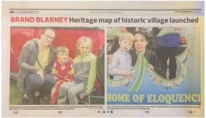 Southern Star Heritage map of historic village launched