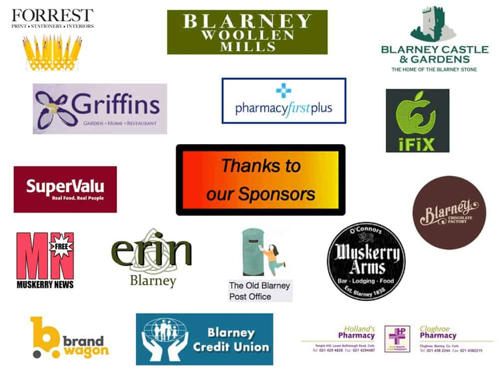 Sponsors of A Load of Blarney