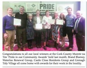 Muintir na Tire award 2018