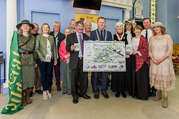 launch of Blarney Heritage Map