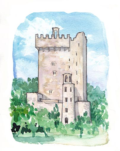 Blarney Castle on the Interactive Heritage Trail